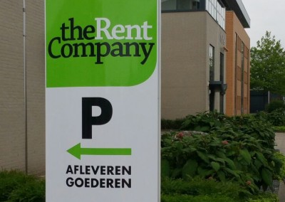 Info zuil | The Rent Company