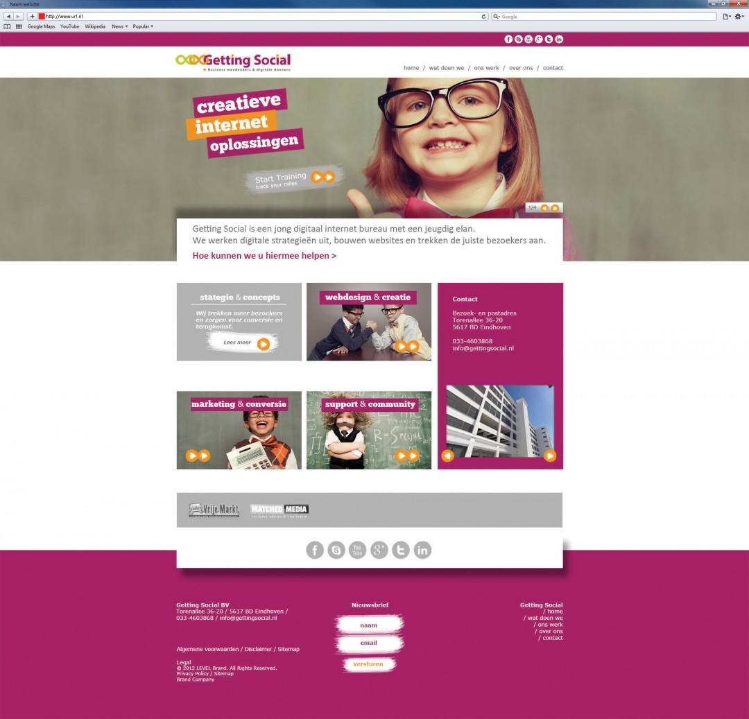 Webdesign | Getting Social