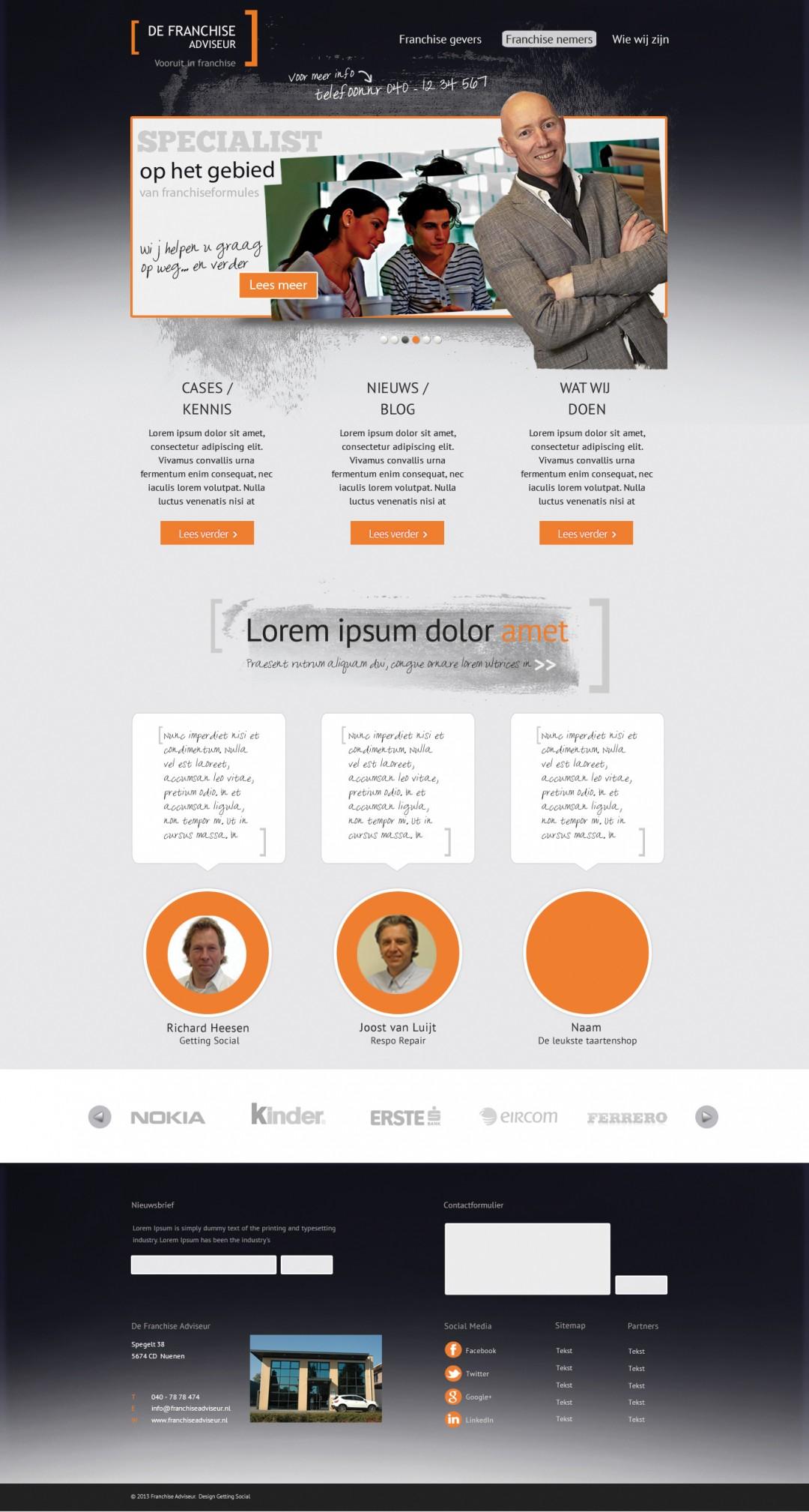 Webdesign | Franchise adviseur